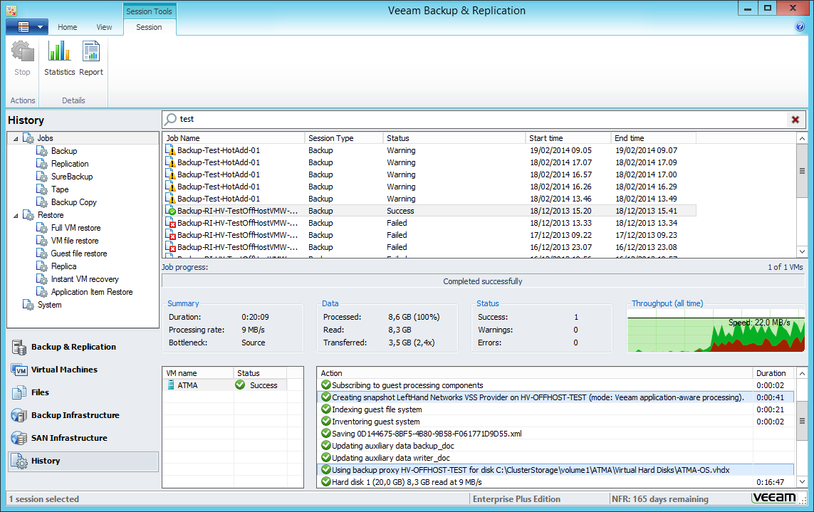 how to find ip address of hyper v vm