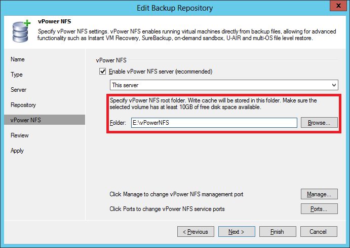 How to mount Veeam B&R's vPower NFS share – Danilo Chiavari
