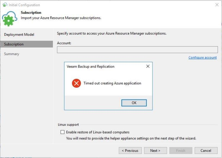 Veeam Quick Tips 02 – Using Azure resources in B&R behind a